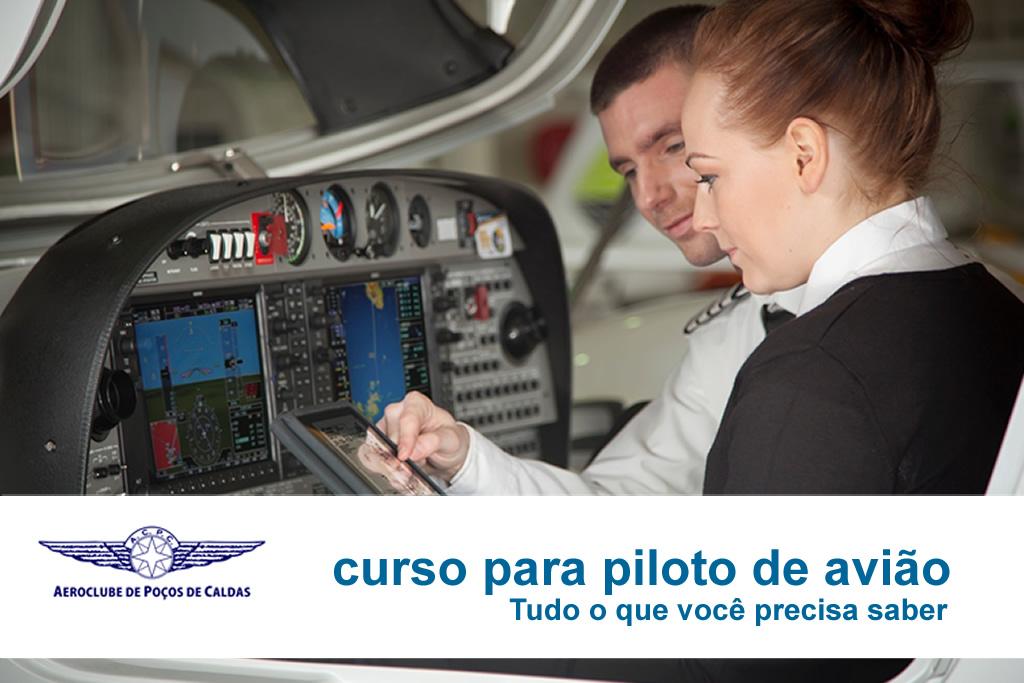 O que é preciso para ser piloto de avião?